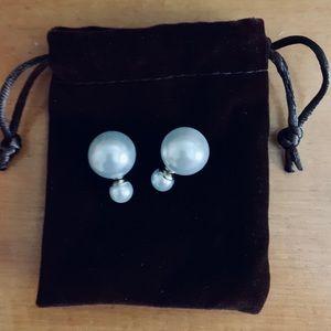 Pearl Tribal Earrings